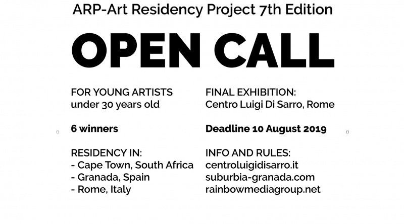 ARP-Art Residency Project 7th Edition OPEN CALL